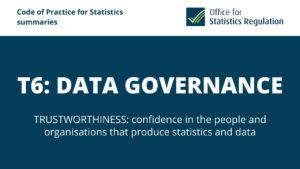 T6: Data Governance